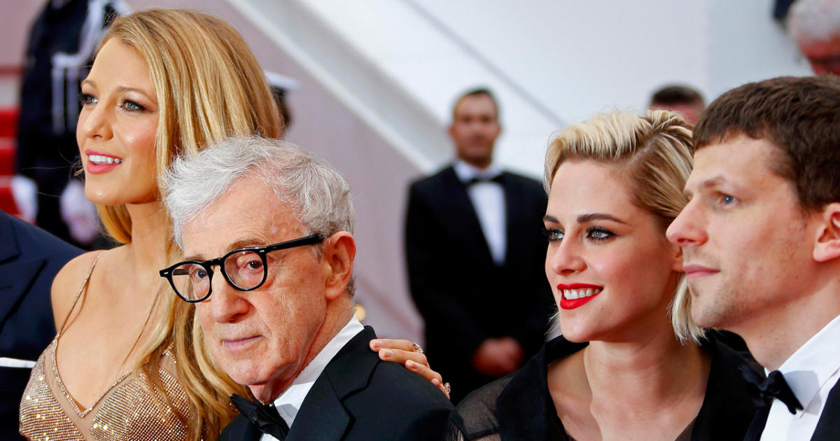 Woody Allen can't escape sexual assault allegations at Cannes - CBS News