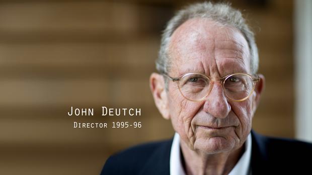 前中央情报局局长John Deutch
