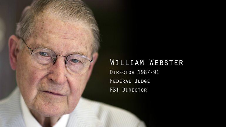 Former FBI Director William Webster