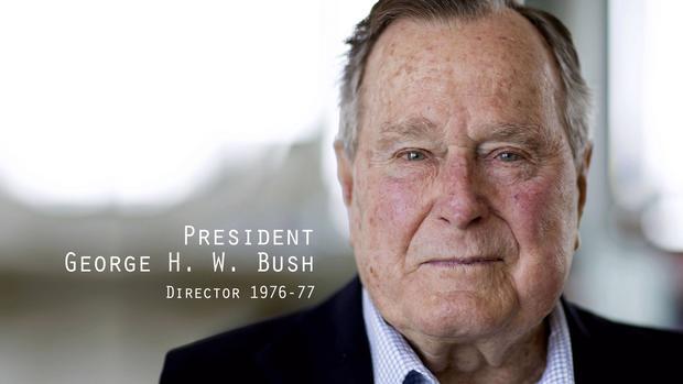 总统乔治H.W.布什,前中央情报局局长
