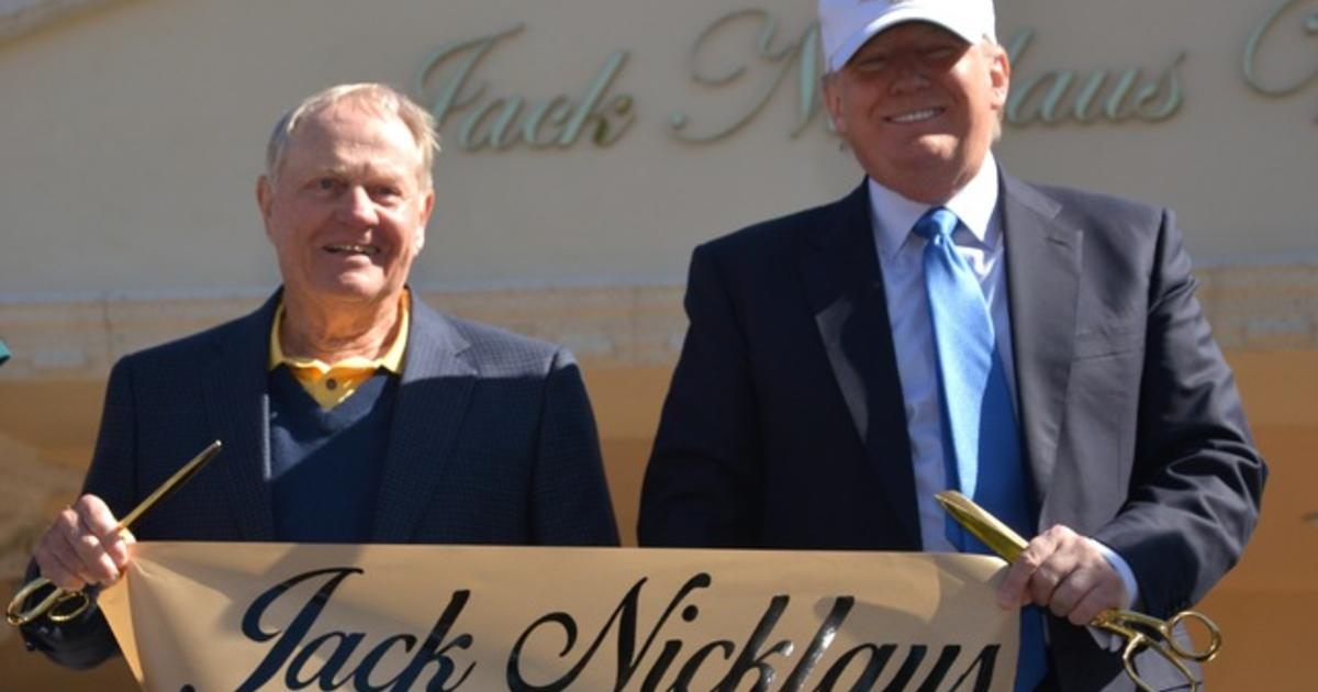 """Jack Nicklaus on Trump: """"Hes turning America upside-down"""""""