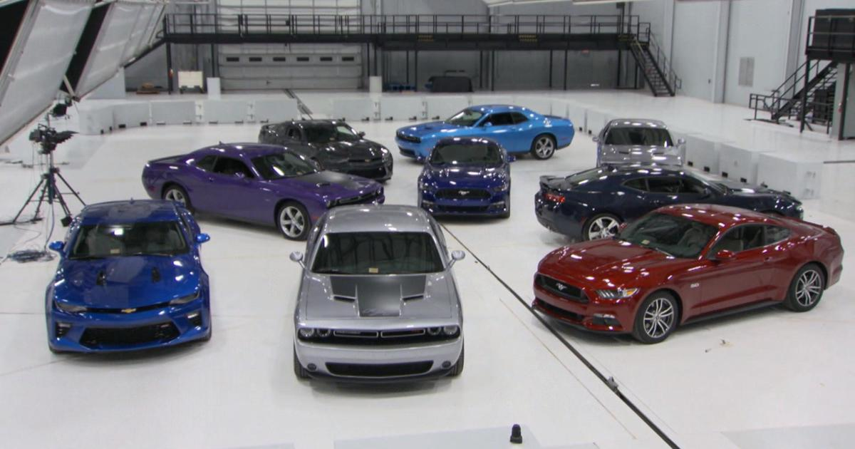 """New crash tests used to rank """"muscle cars"""""""