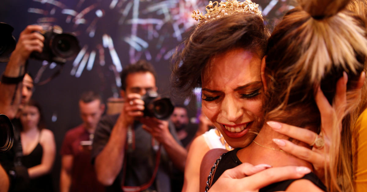 israeli christian wins first miss trans israel pageant cbs news. Black Bedroom Furniture Sets. Home Design Ideas