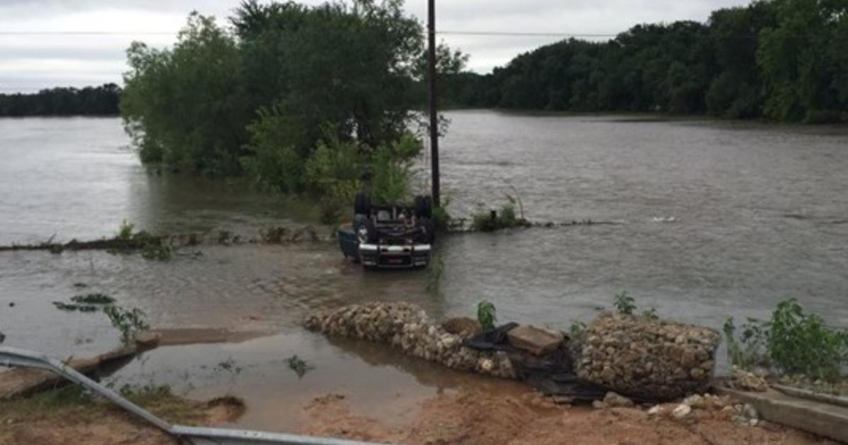 Texas flooding turns deadly, more rain expected - CBS News