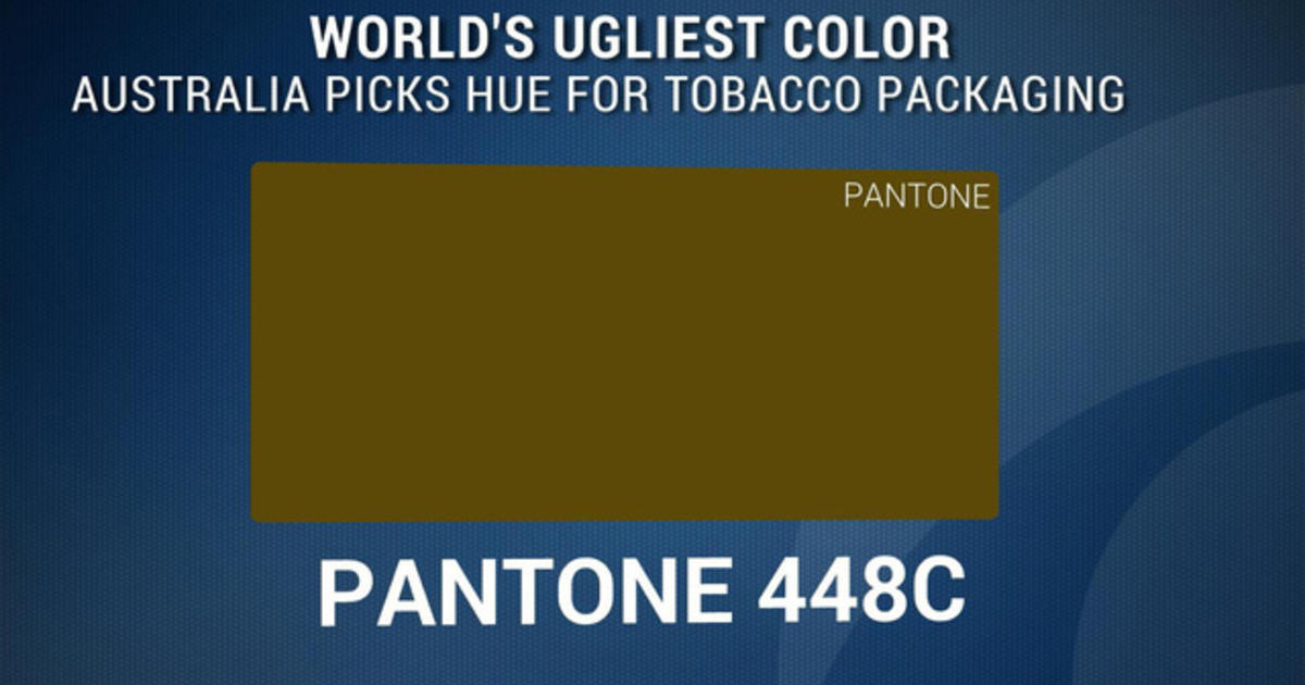 World 39 S Ugliest Color Plays Role In Anti Smoking