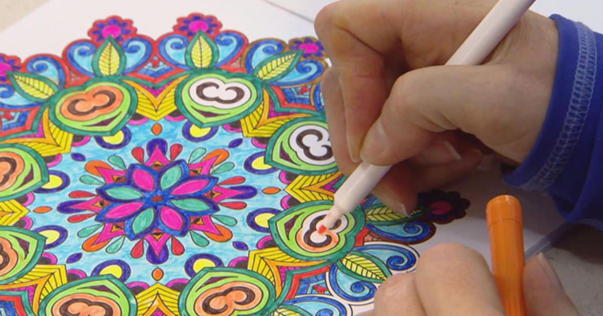 9 Year Old Coloring Books : Color me impressed cbs news