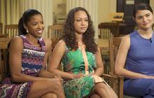 """""""Hamilton"""" actresses on how Broadway show empowers"""