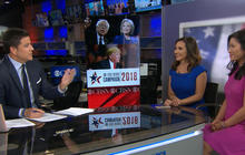 Clinton, Trump focus on party unity after big primary night
