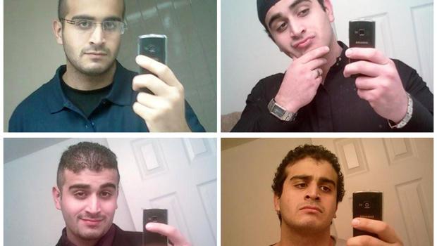 来自他的社交媒体账户的未注明日期照片的组合显示奥马尔警察,奥兰多警方已确认他是佛罗里达州奥兰多Pulse夜总会大规模射击的嫌疑人。