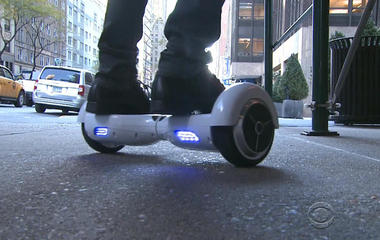 500,000 hoverboards made by 10 companies recalled