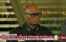 Police chief: Dallas shooting suspect killed by bomb