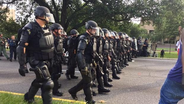 50 arrested Sunday at Baton Rouge protests