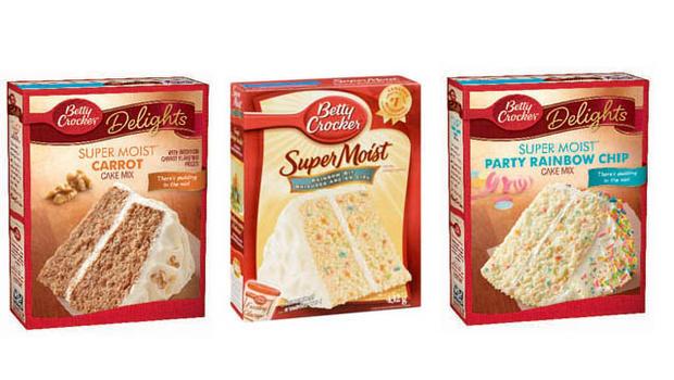 List Of Betty Crocker Cake Mix Flavors
