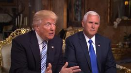 Unaired 60 Minutes clips with Trump and Pence