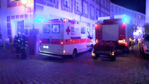 Fatal explosion rocks German city