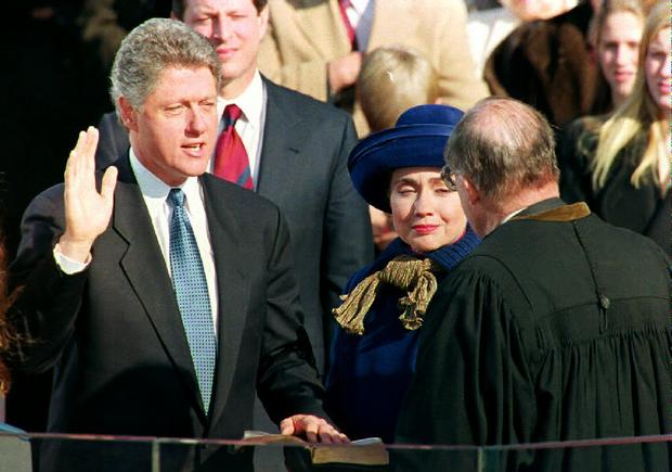 Bill And Hillary Vintage Clintons Pictures Cbs News