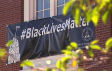 """""""Black Lives Matter"""" poster divides residents in Mass. town"""