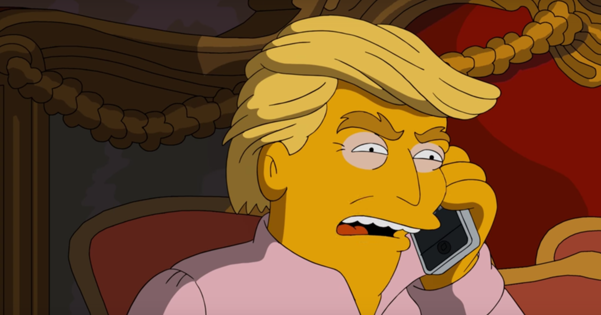 Quot The Simpsons Quot Bring Back The Quot 3 A M Phone Call Quot To Mock