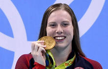 U.S. swimmer beats Russian rival caught in doping scandal