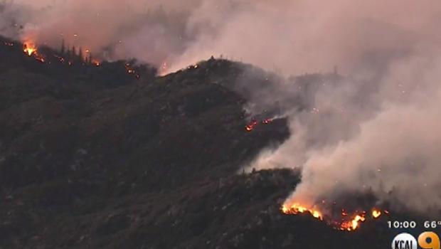 Sobranes Fire, Cold Fire, Pilot Fire