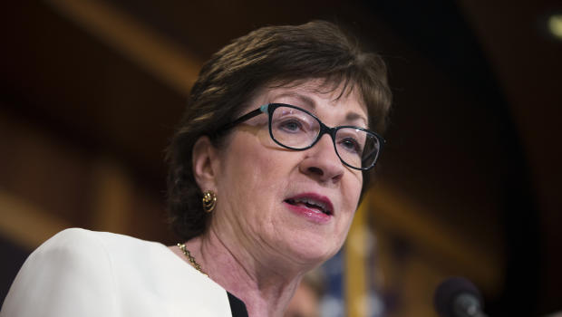 Amid health care debate, GOP senators cheered, jeered – and out of sight – CBS News