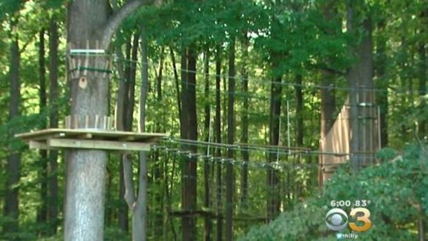 Woman dies after falling from zip line ride at state park