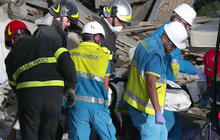 Italy earthquake death toll soars as crews dig through rubble