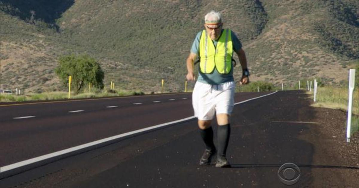 WWII vet runs 3,000 miles across the U.S.