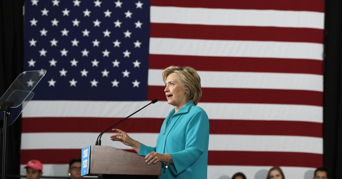 "... Clinton calls out Donald Trump's ""steady stream of bigotry"" - CBS News"
