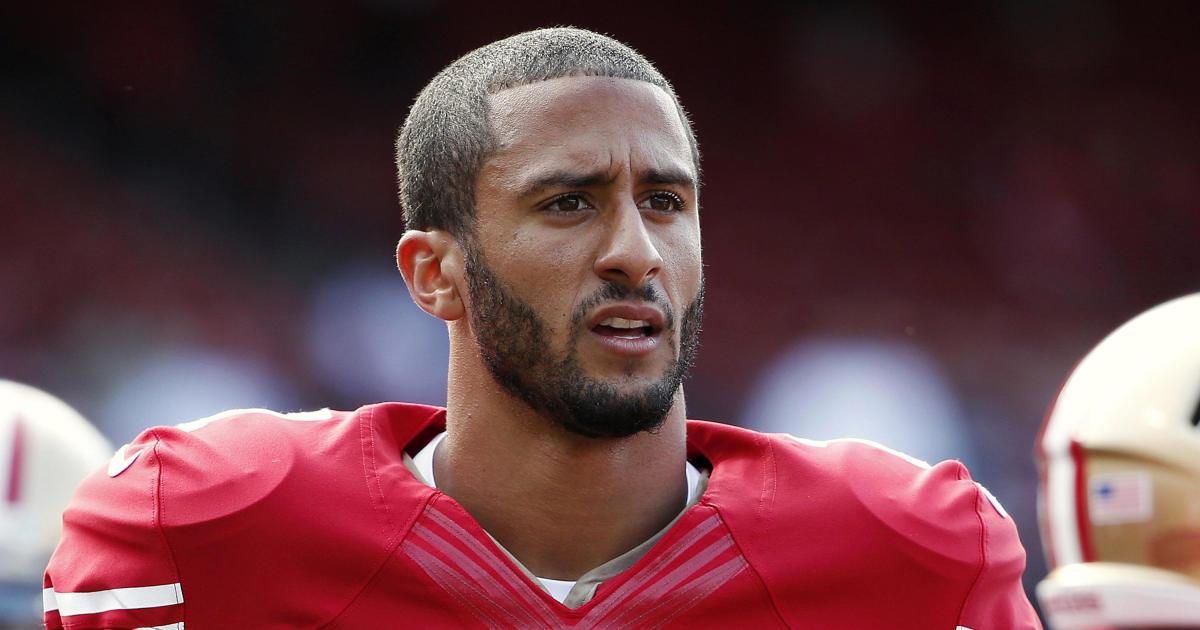Colin Kaepernick Qb At Nfl Com >> San Francisco 49ers' Colin Kaepernick refuses to stand for ...