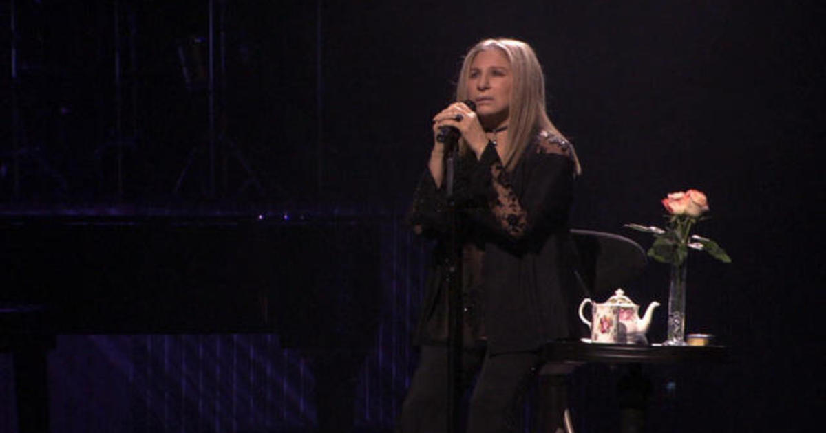 Barbra Streisand, with a little help from her friends
