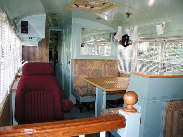 9 Bus Homes That Are Way Too Cool For School Cbs News