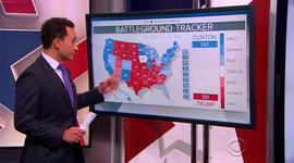 Trump and Clinton battle for electoral votes
