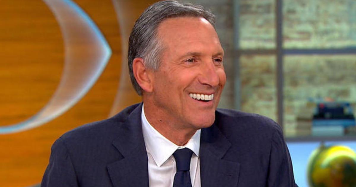 Starbucks Ceo Howard Schultz On Quot Upstanders Quot Original