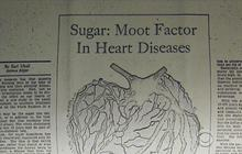 Did sugar industry play down health hazards for decades?