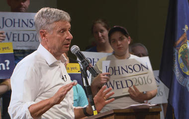"""Why Gary Johnson says ISIS threat is """"overrated"""""""