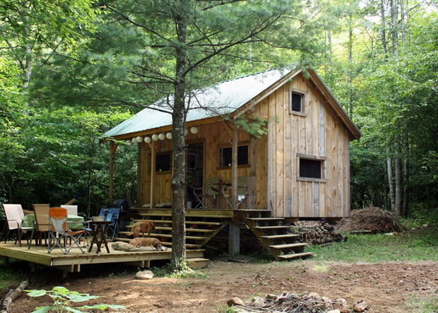 Easy domes 6 tiny homes you can build with no training for Cottage homes to build