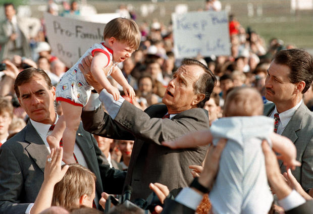 Iconic presidential campaign moments