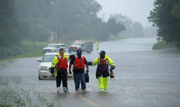Hurricane Matthew Aftermath Storm Lashes South Carolina