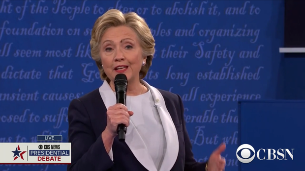 Clinton-Trump Tawdry Tape Debate Draws Smaller Audience Than First Go