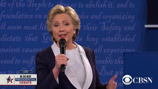 2nd Clinton-Trump presidential debate, 2016 USA elections