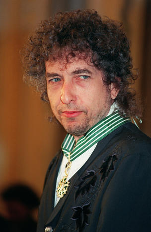Bob Dylan, folk rock music legend