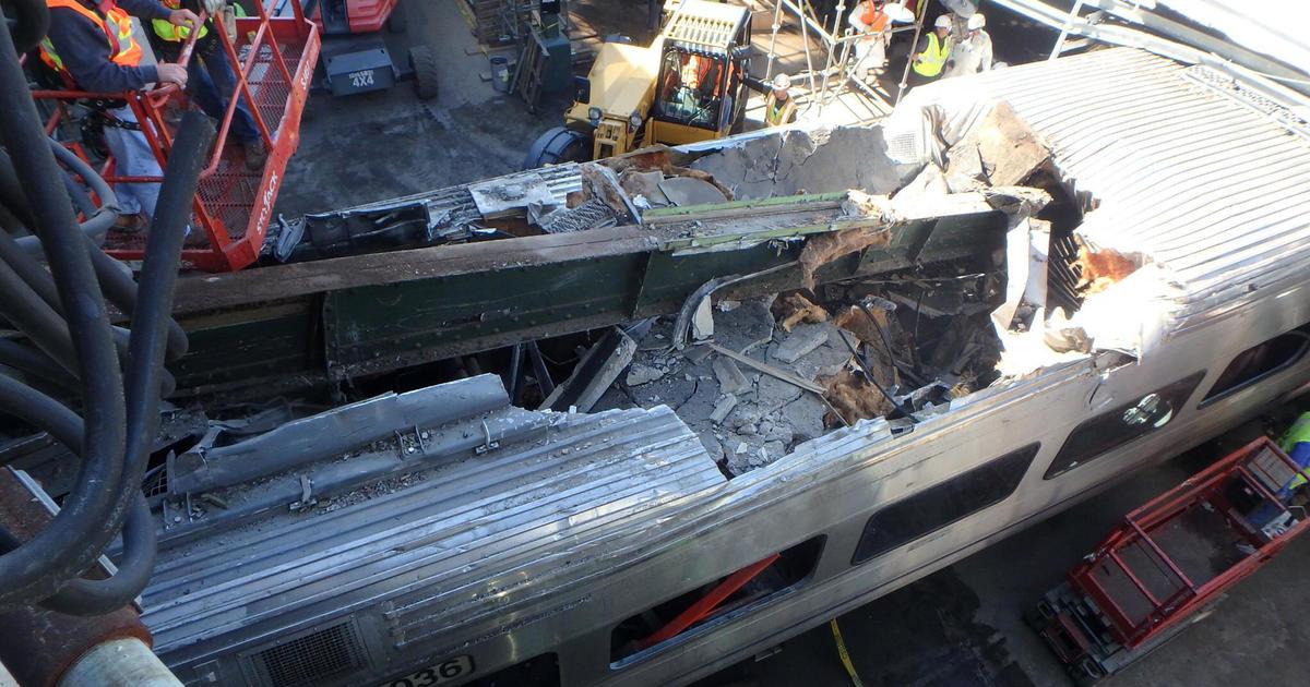 Hoboken train crash investigation hampered by heavy damage ...