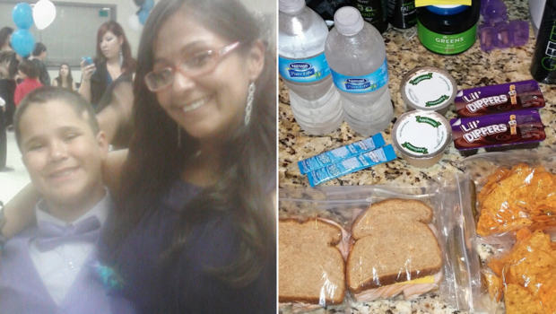 Student asks mom to pack 2 school lunches so friend can eat
