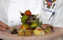 Mario Batali prepares for final Obama state dinner