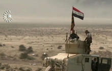 On the front lines of the Mosul offensive