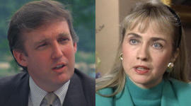 Two candidates, three decades on 60 Minutes