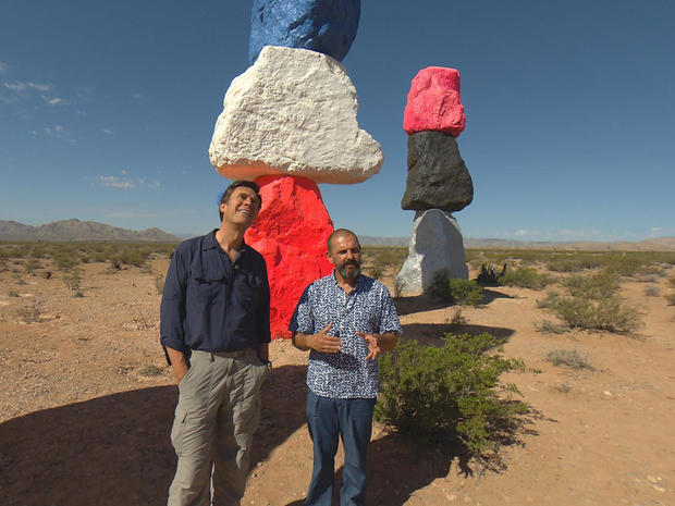 Art in the Nevada desert