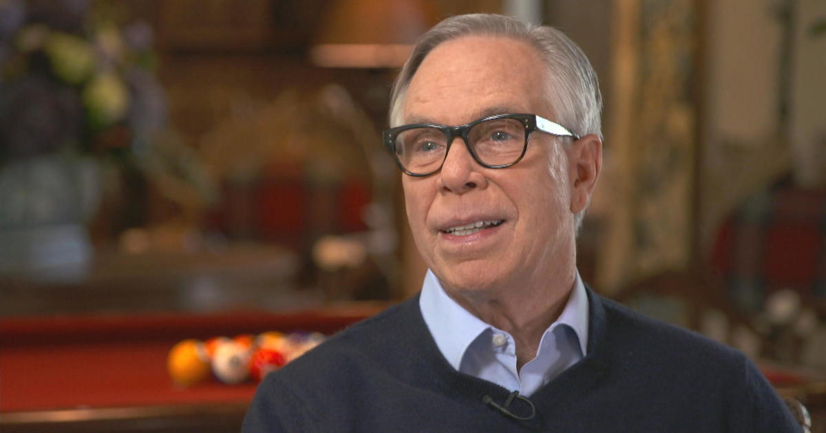 tommy hilfiger on building his brand and realizing his dream cbs news. Black Bedroom Furniture Sets. Home Design Ideas
