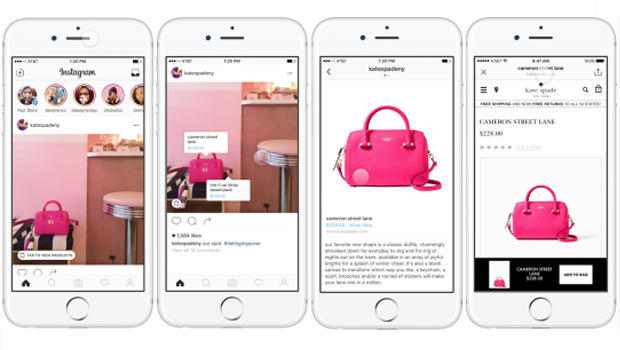 Instagram To Trial Online Shopping Feature